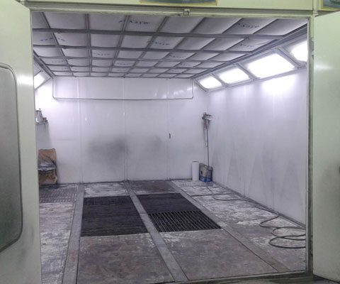 Car panting oven-A
